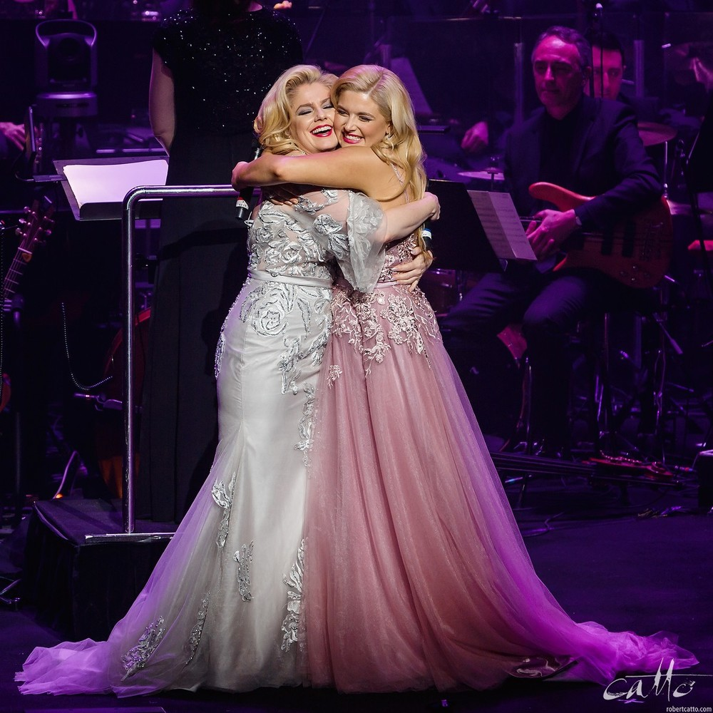 Helen Dallimore and Lucy Durack