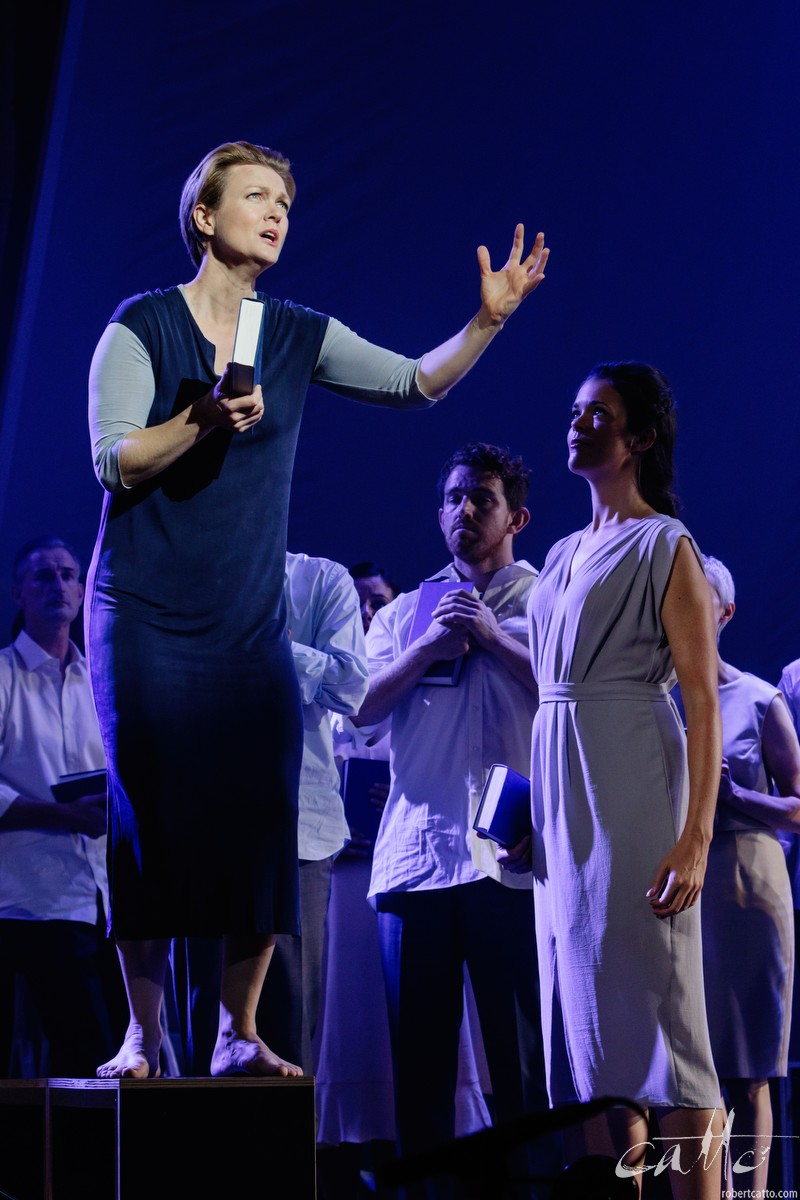 Caitlin Hulcup as Irene with Valda Wilson as Theodora.