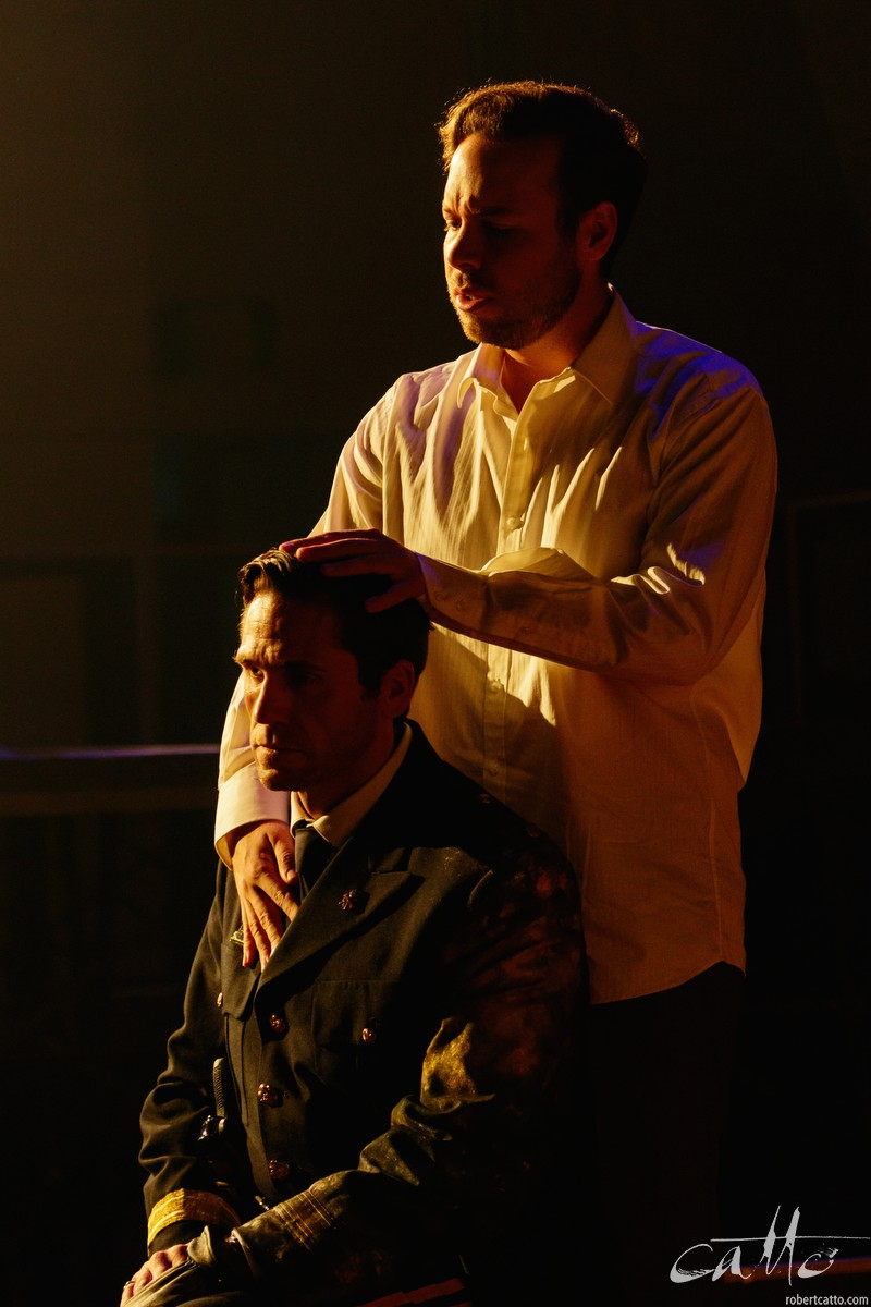 Christopher Lowrey as Didymus with Ed Lyon as Septimus.