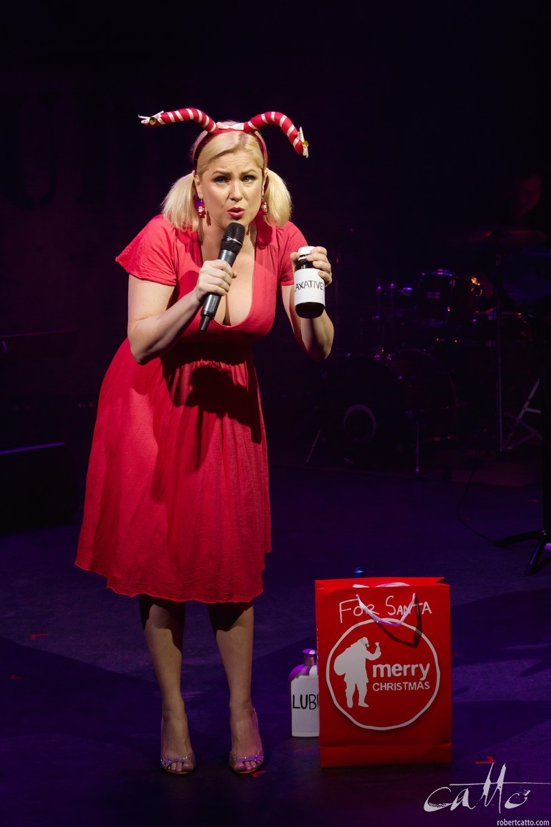 Helen Dallimore sings Santa Claus Got Stuck In My Chimney