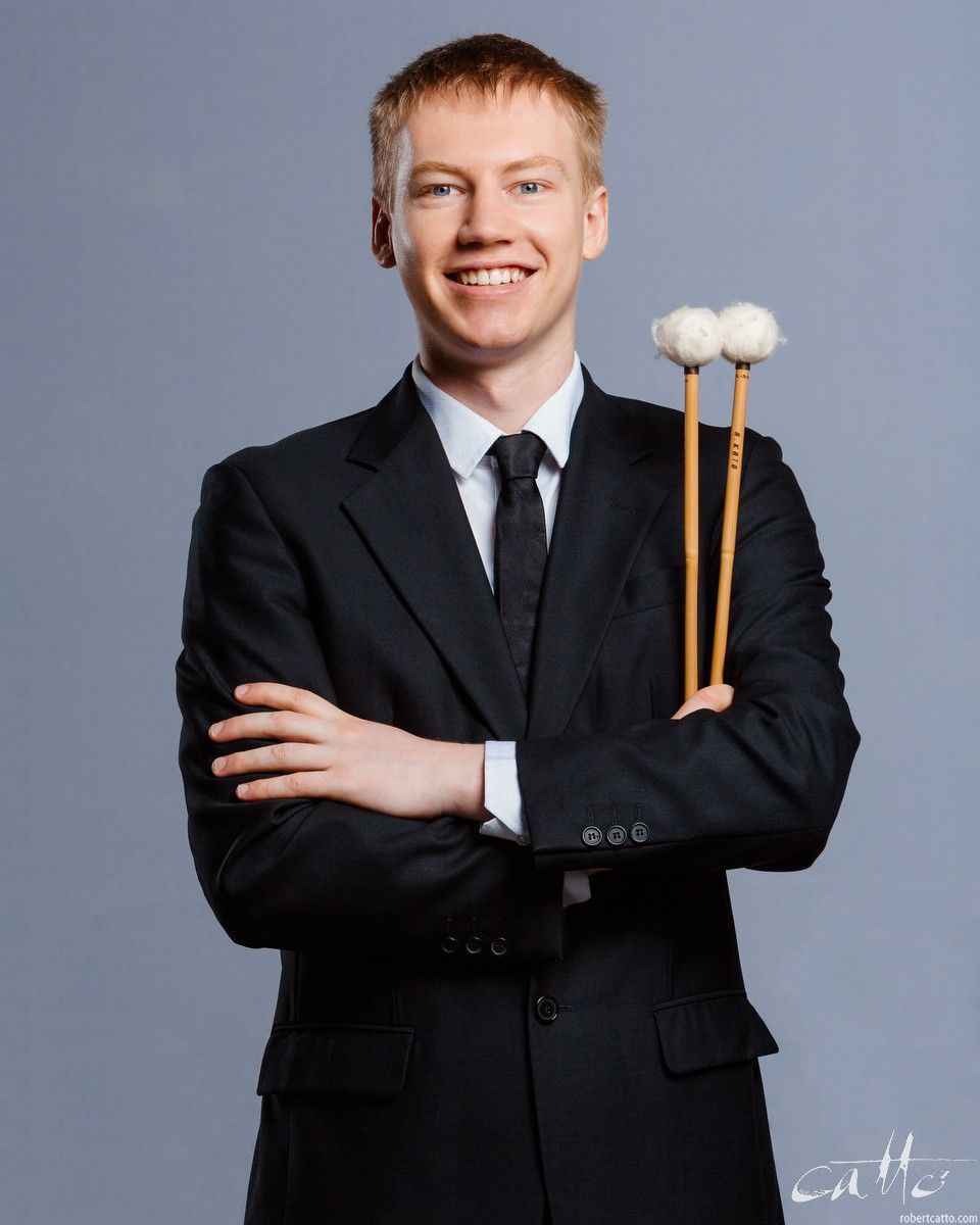 Hugh Tidy, Percussion
