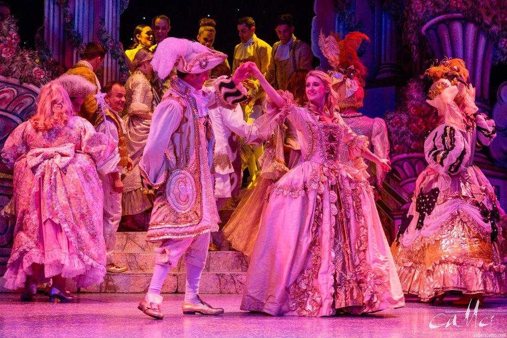 Tim Maddren & Jaime Hadwen in Cinderella