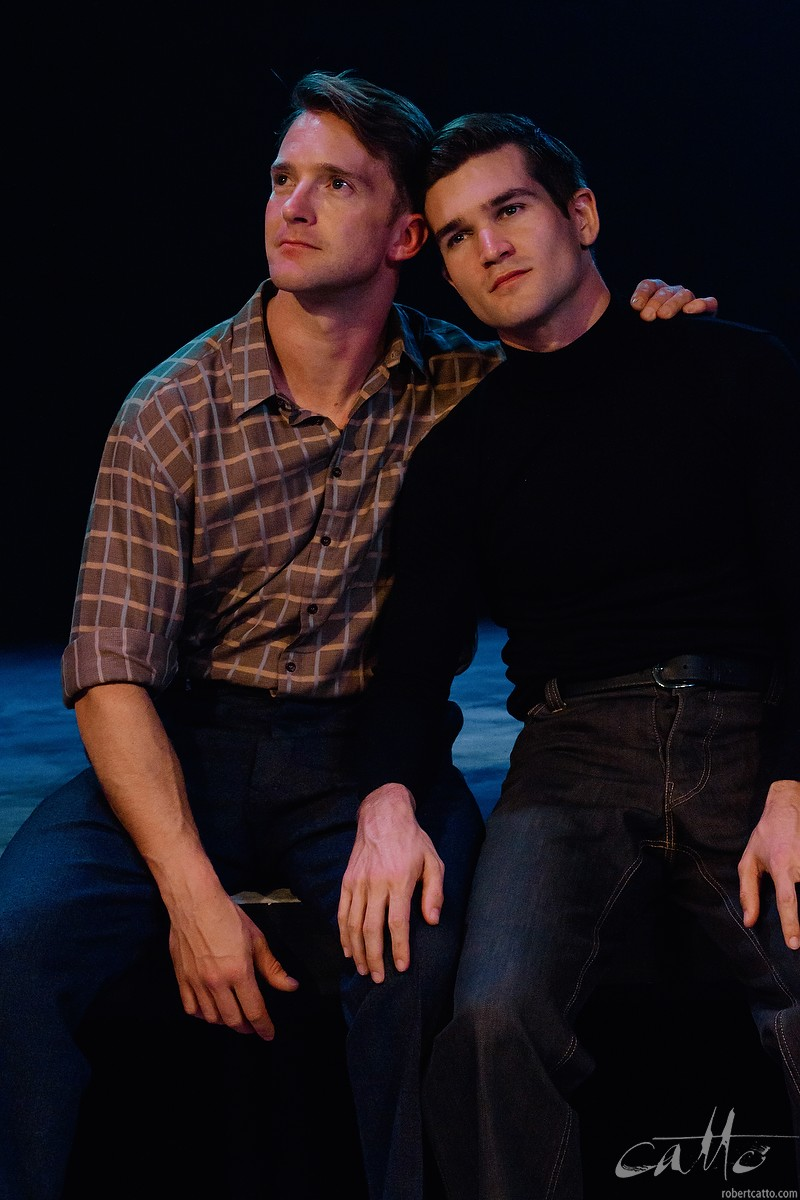 Tim Draxl and Ben Hall in Only Heaven Knows