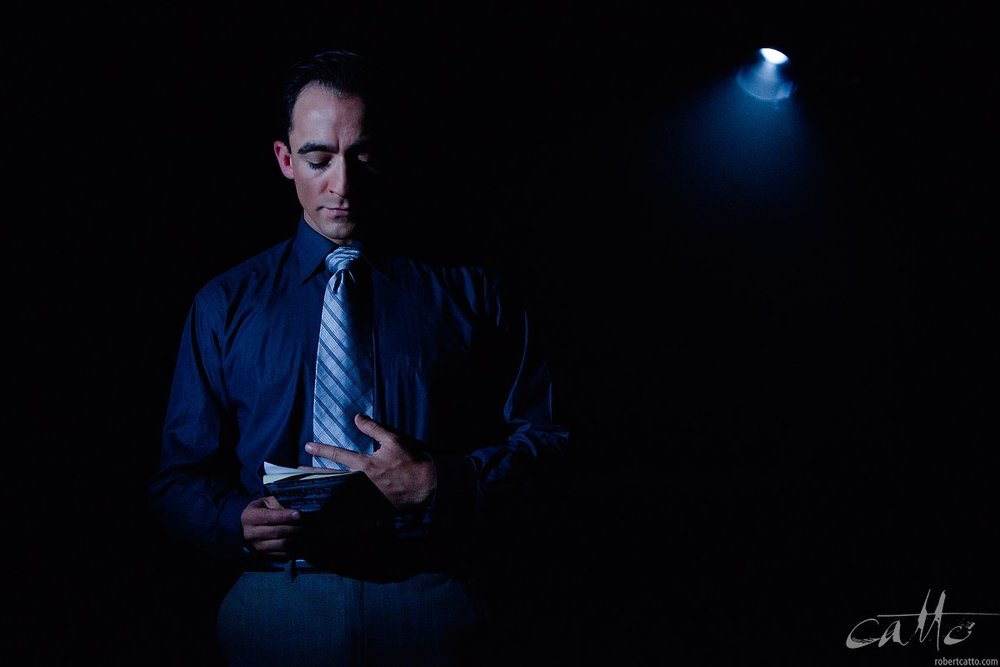 Matthew Backer in Only Heaven Knows - At the Hayes Theatre, Sydney