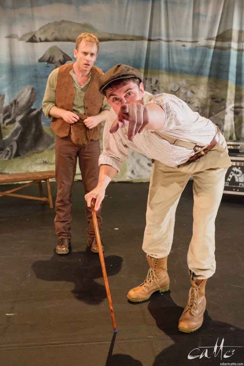 Grant Cartwright & Sean Hawkins in Stones In His Pockets, directed by Chris Bendall for Critical Stages