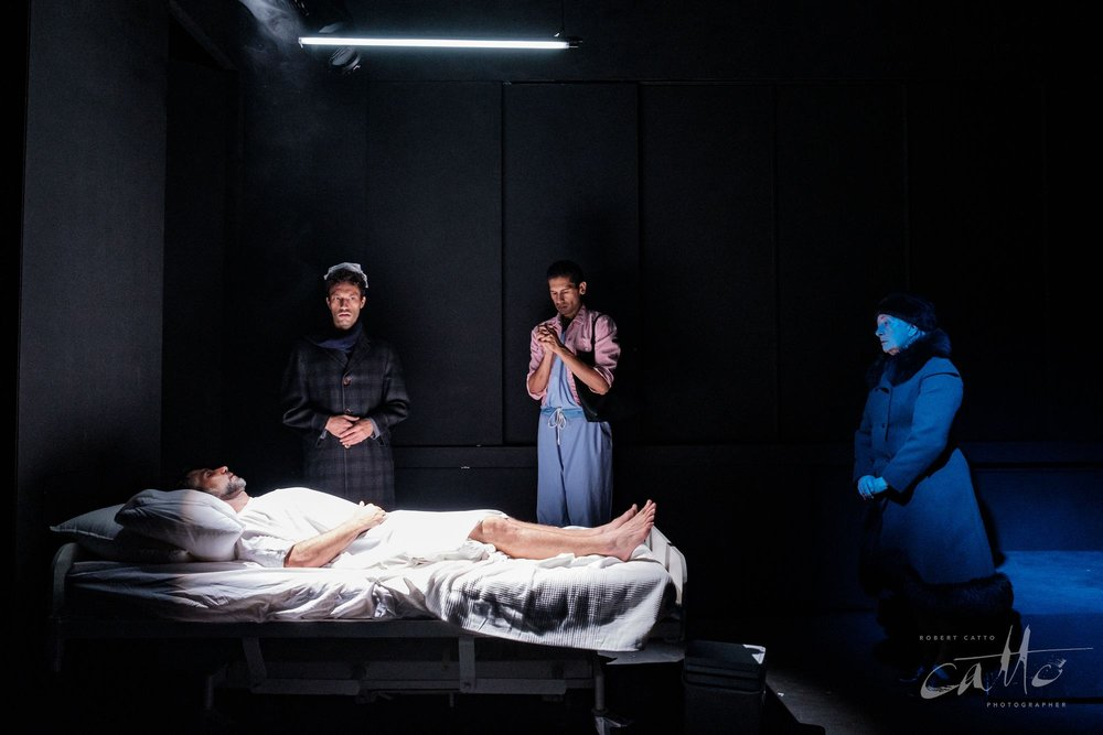Ashley Lyons, Tim Wardell, Joseph Althouse and Jude Gibson in Angels In America