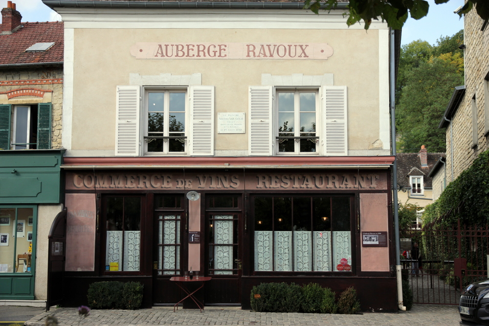 The Auberge Ravoux, where Vincent van Gogh spent his final days.