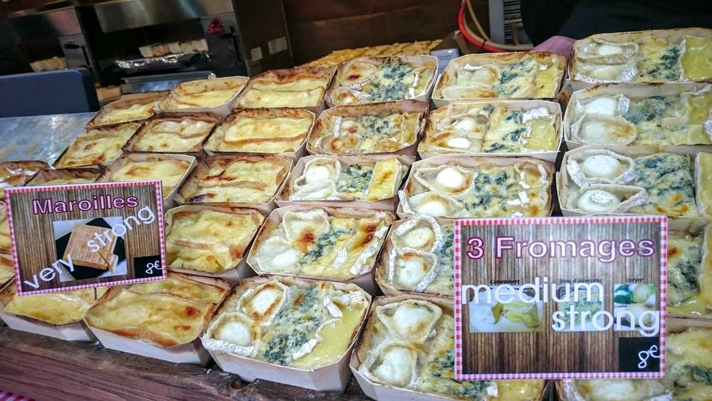 Pommes de terre et fromage...