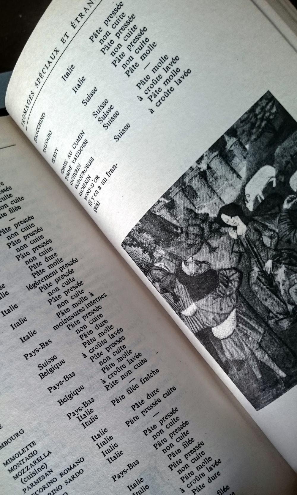 Le Guide d'Androuet est une collection énorme. Il y a des lettres à sa fille,des explications, recommandations et illustrations.