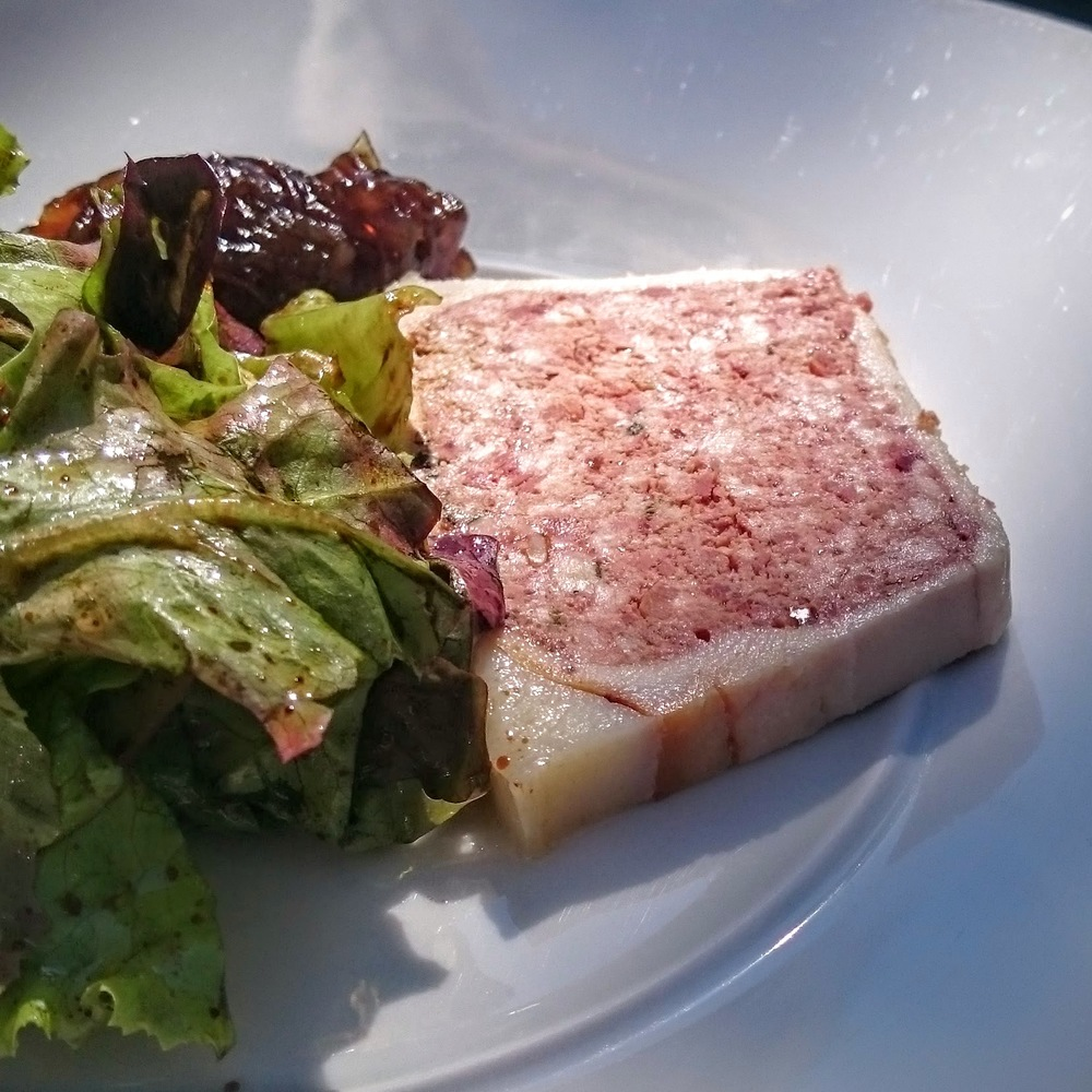 Terrine of chicken liver