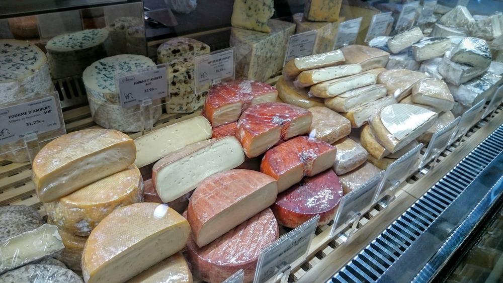 Les pâtes lavées et les fromages persillés (bleus)