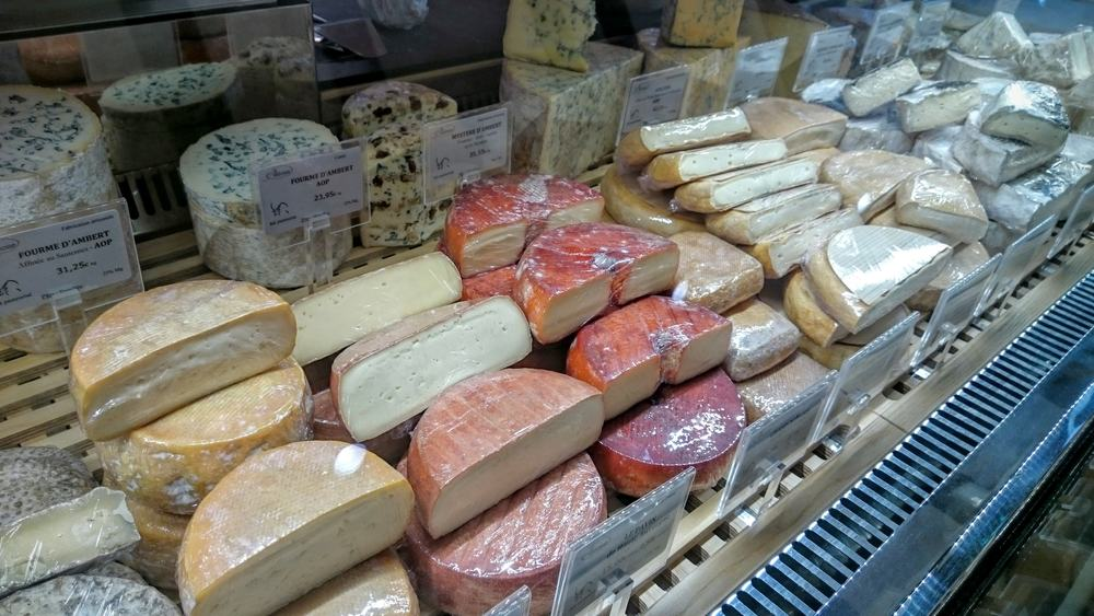 Washed rind and blue cheeses