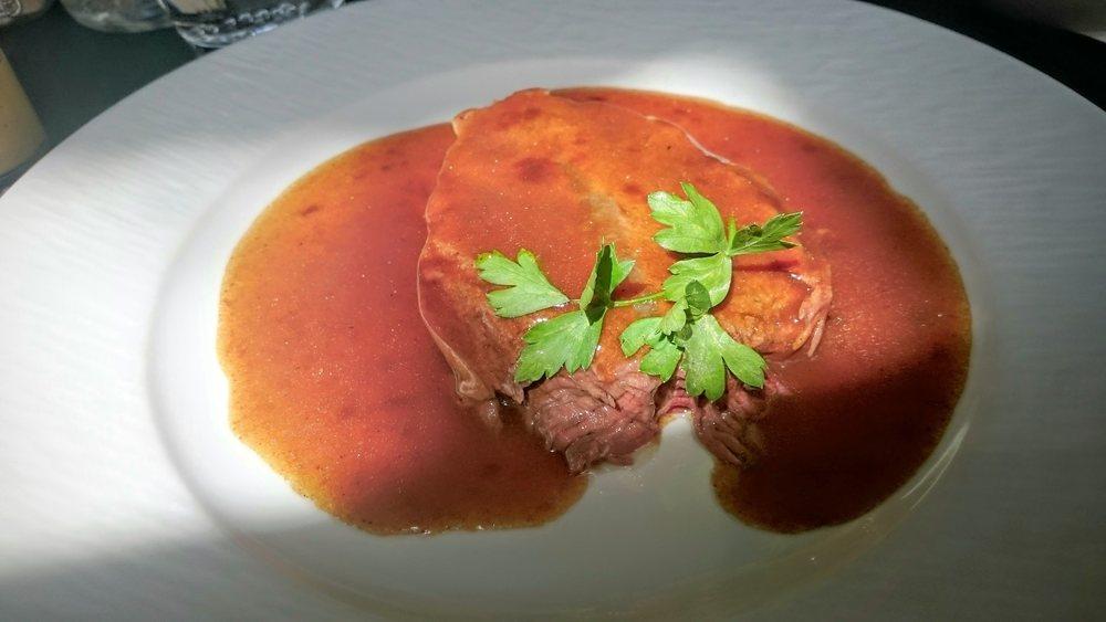 Le paleron de bœuf. Une bouchée parfaite.