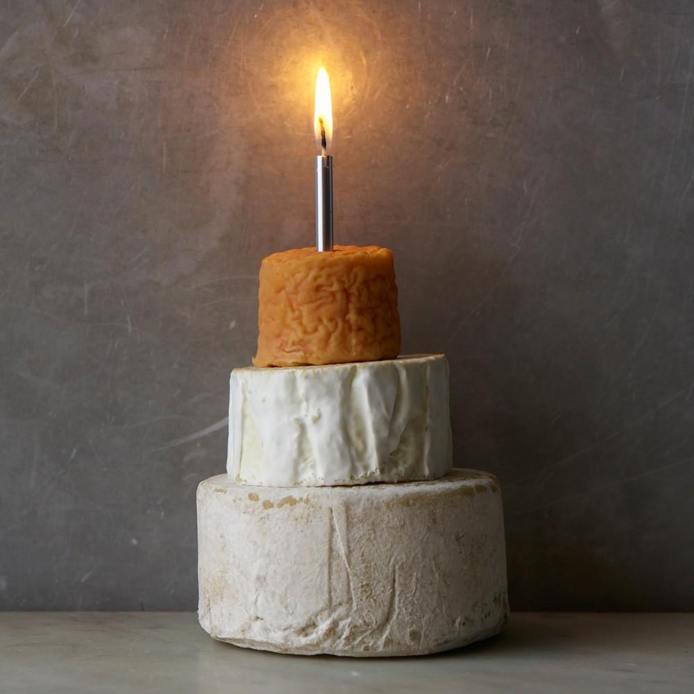 C'est un vrai gâteau de fromage disponible d'une fromagerie en Angleterre !
