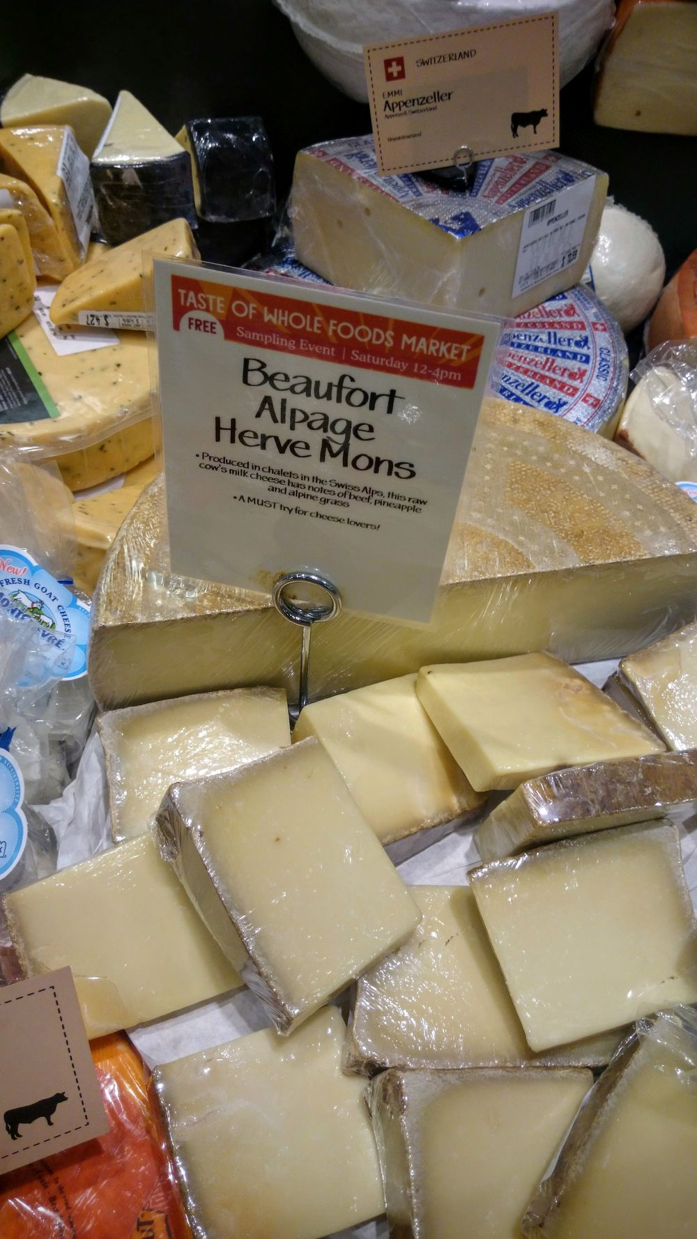 A fantastic Beaufort from Mons, the famed French  affineurs.