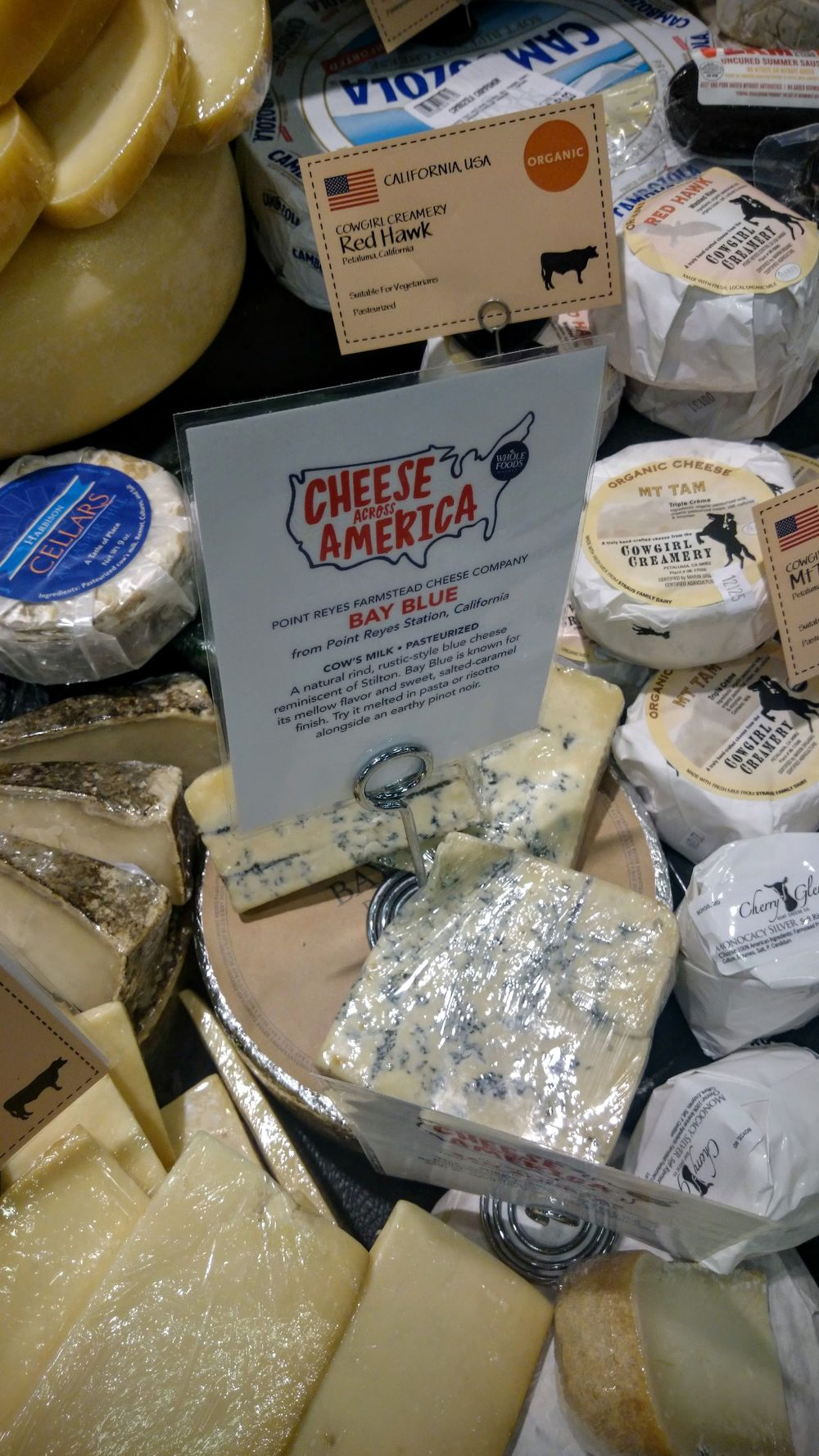 A very good American blue cheese.