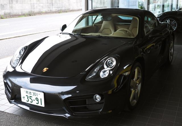 Porsche Cayman S, left-hand drive