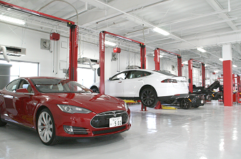 Totsuka, Yokohama: Japan's first service center for Teslas