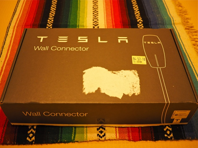 Everything you need to charge your Tesla Model S is in this box