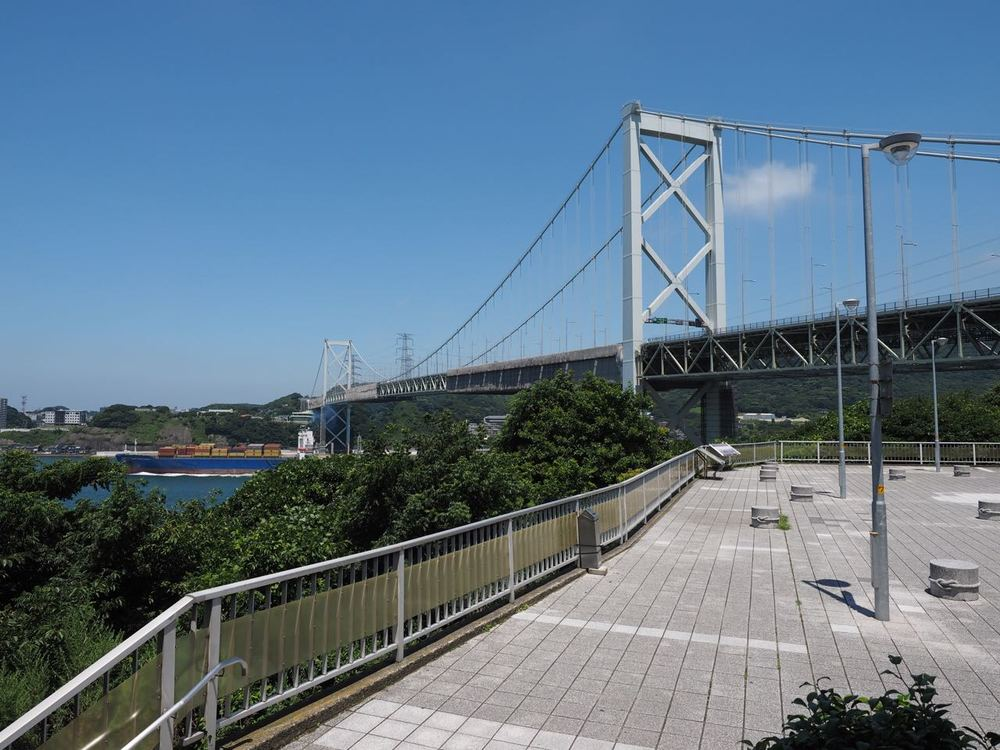 Shimonoseki Bridge from Mekari PA