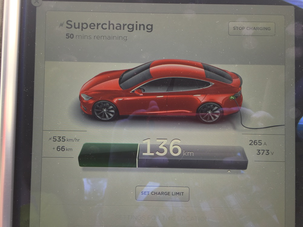 I was the only one charging and got truly super charged