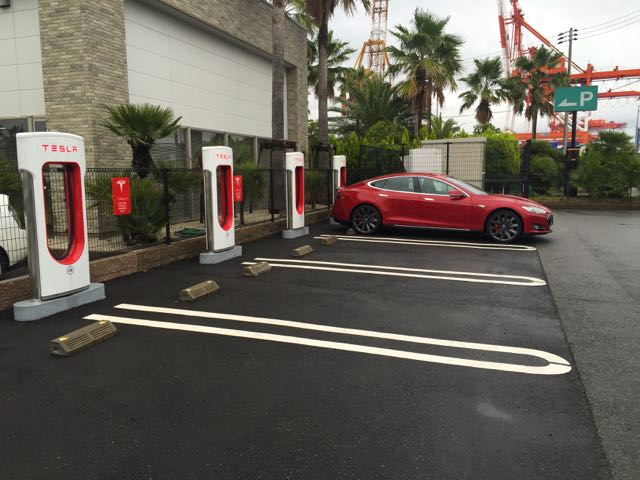 Kobe Supercharger on Port Island