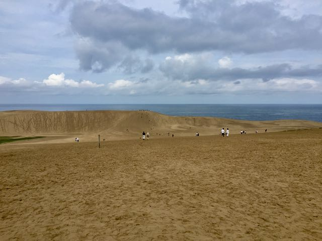 Tottori's sand dunes