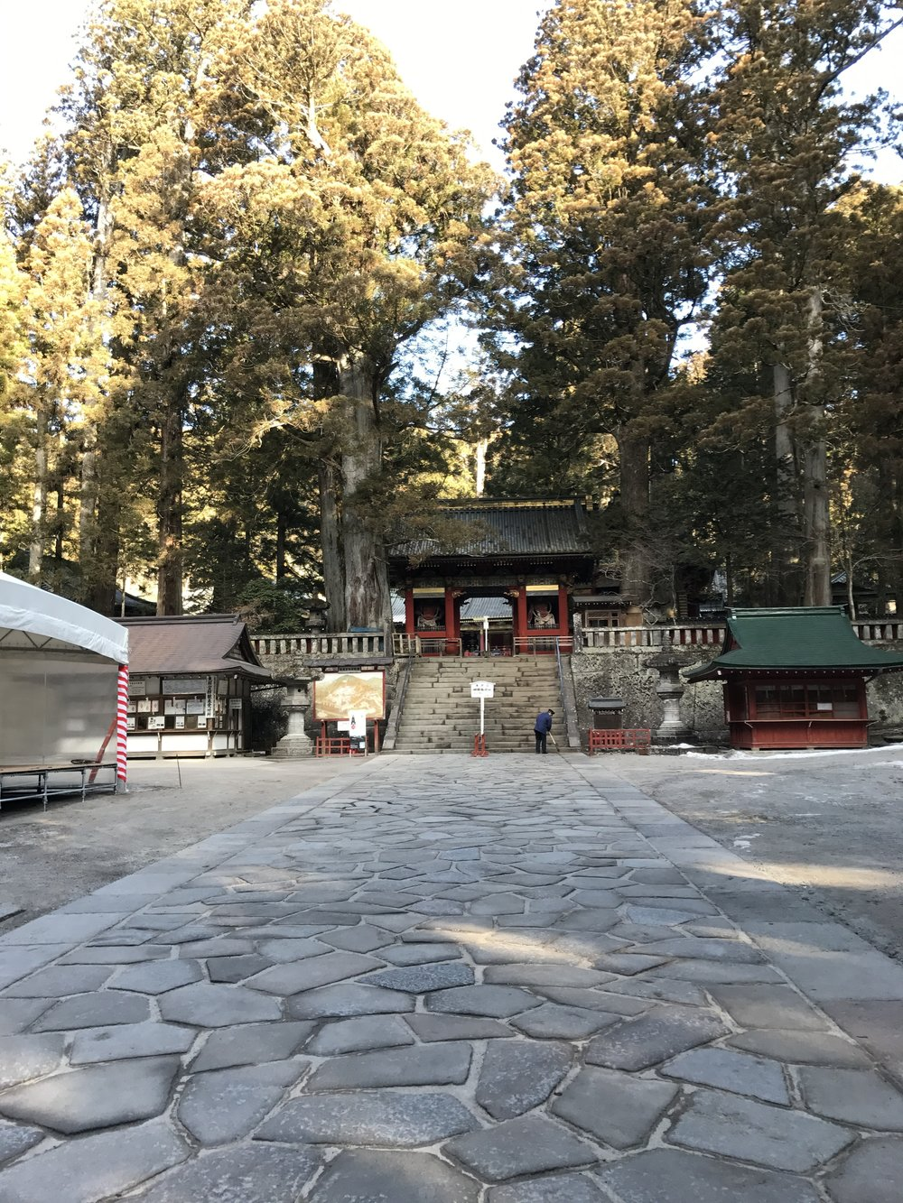 The main entrance: ¥1,300 for the shrine and look in the 12 gods dedicated to the 12 animals from the Chinese calendar (year of the cock this year)