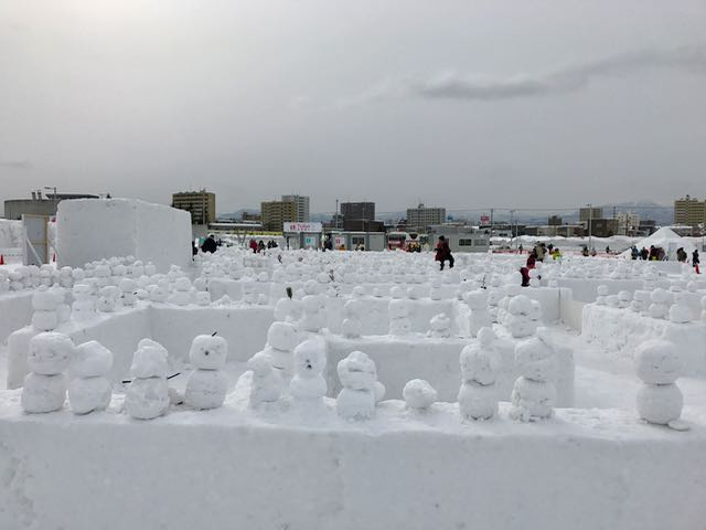 Forest of snowmen (the Japanese versions usually have two parts, not three)