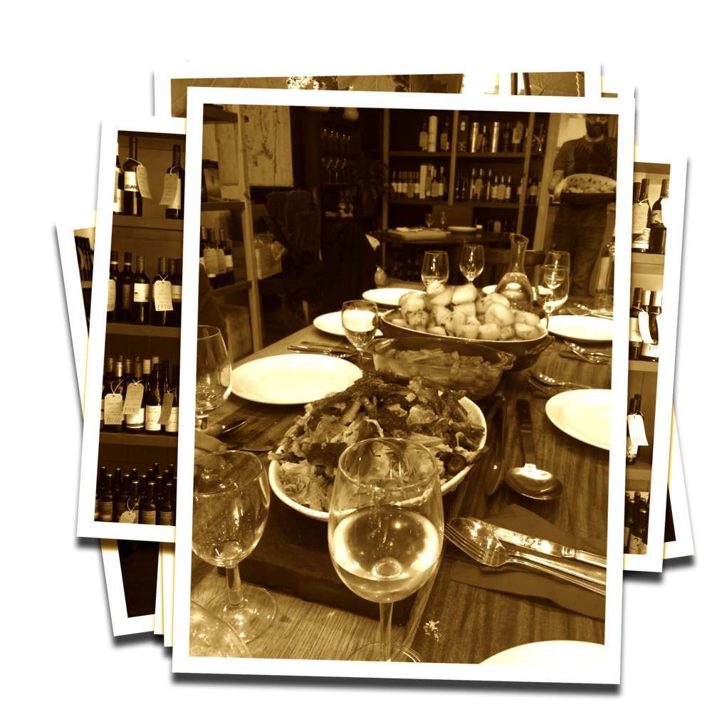 Dinner at Smiths Wine Shop Exeter