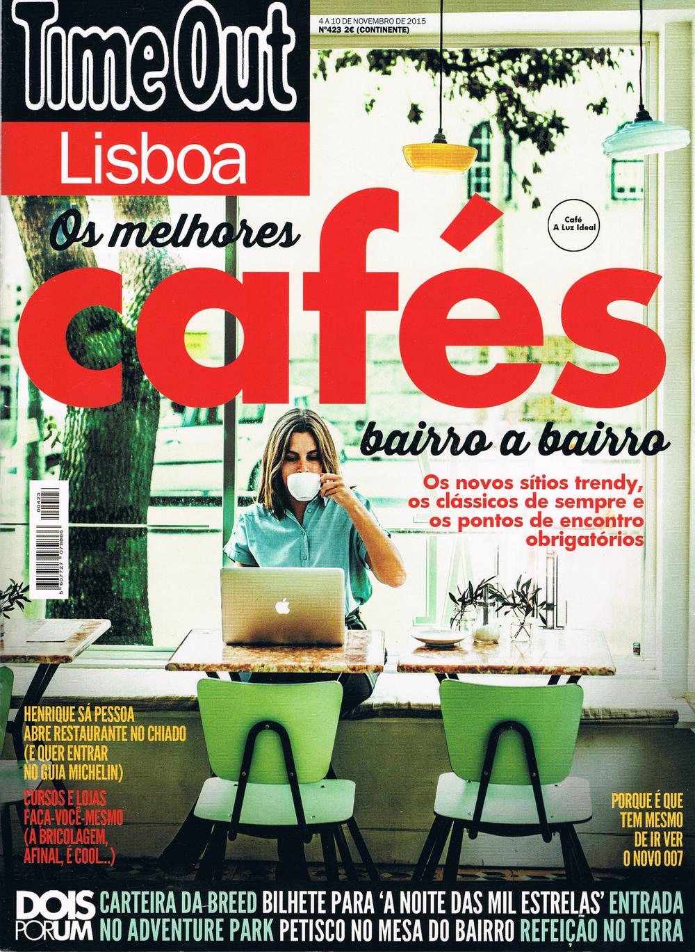 TimeOut nº423 | 4-10 Novembro 2015 — capa