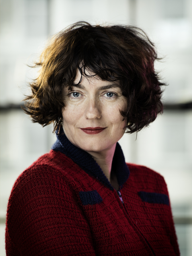 Anna Chancellor, pictured at the Menier Chocolate Factory