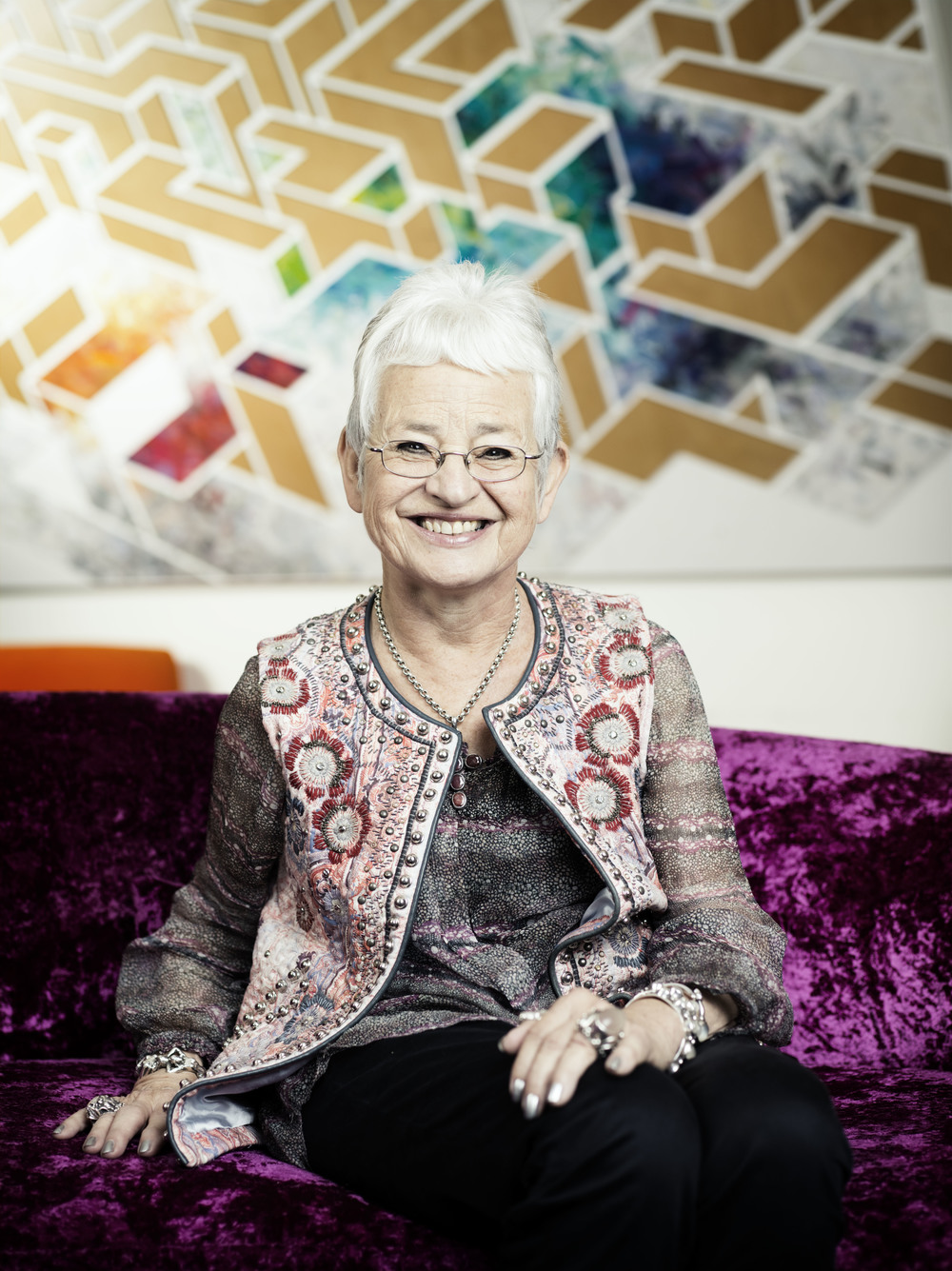 Childrens Author Jaqueline Wilson for Weekend. FAO Lou Siroy