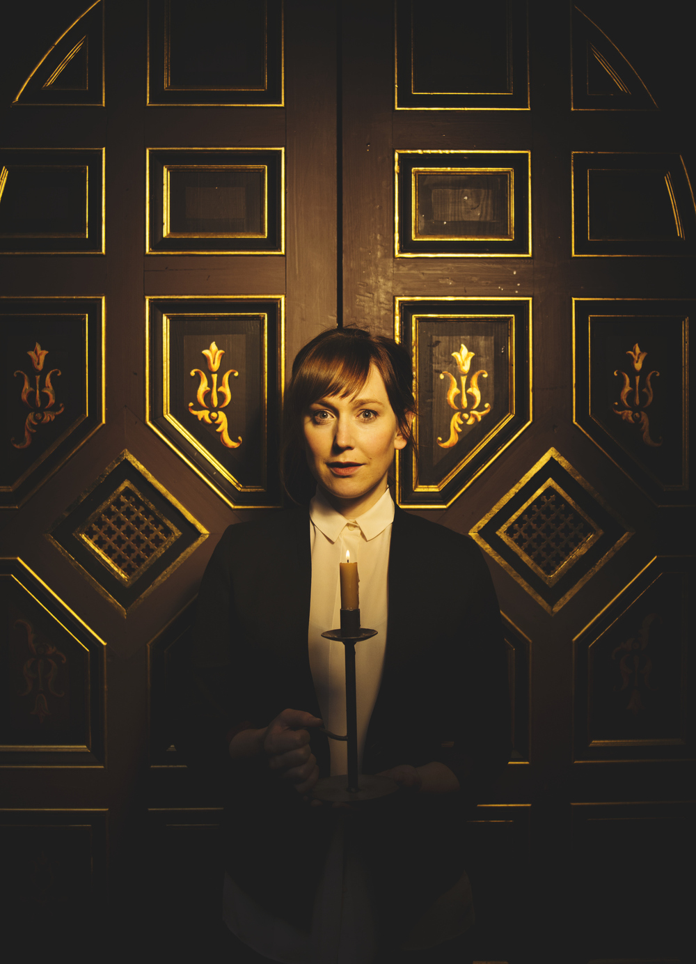 REVIEW interview with Hattie Morahan at the Sam Wanamaker Playhouse