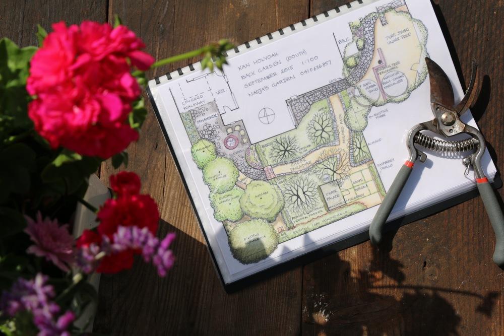 Back Garden Plans