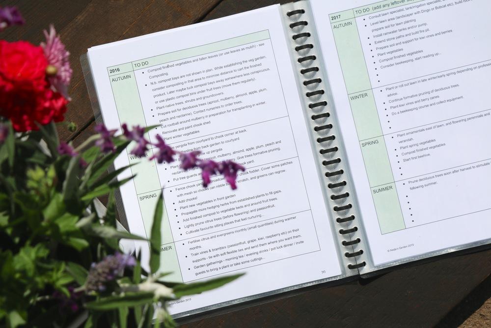Garden Organiser