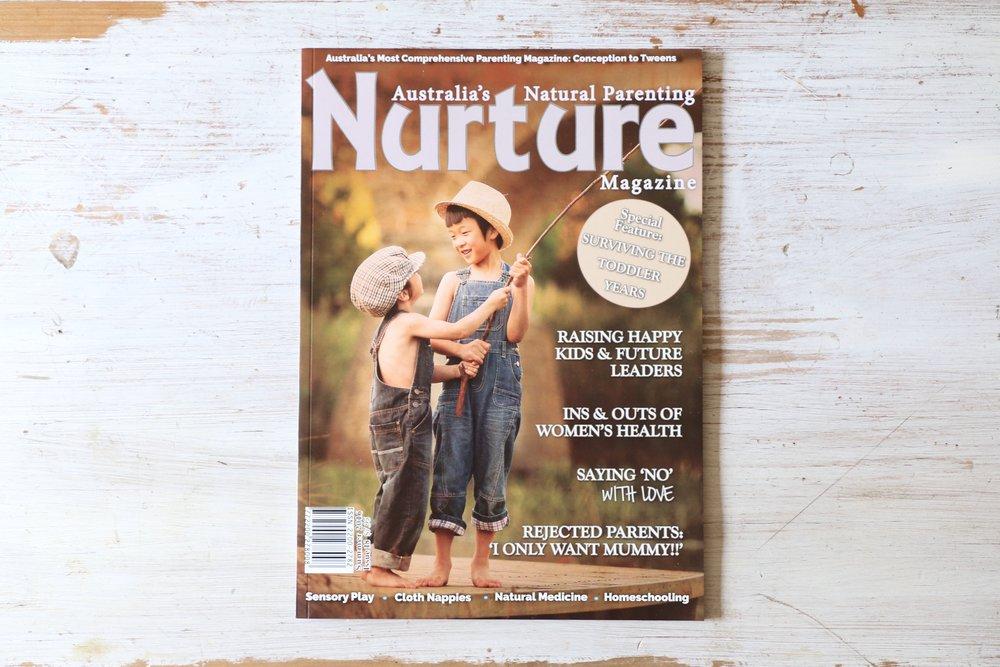 Nurture Cover