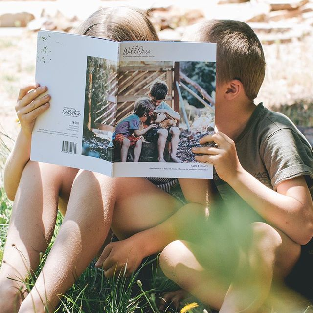 Wild Ones Issue 3!! It's all about Family . It's out and it landed in member mailboxes some 5 or 6 weeks ago but I'm only managing to catch up now 🤦🏻‍♀️. Lucky for me it's a biannual mag so I've convinced myself I can get away with being a bit behind on my announcement 😉 And I've even put the #bts up on the blog too! . Can you believe I drafted this one while on the plane to Vietnam last July!?! Is it just me or does that Vietnam trip feel like a lifetime ago? . Big thanks to Jason, @natureplaysa Manager and mag Editor, for not cracking the whip on my deadline while my kids and I gallivanted around with the Hill Tribes 😁. . Happy days and happy weekending friends xo . . Ps/ back issues are now available for all non-members 🙌🏼 They can be purchased individually or as a bundle from the Nature Play online shop 🌿. . #wildones #natureplay . .