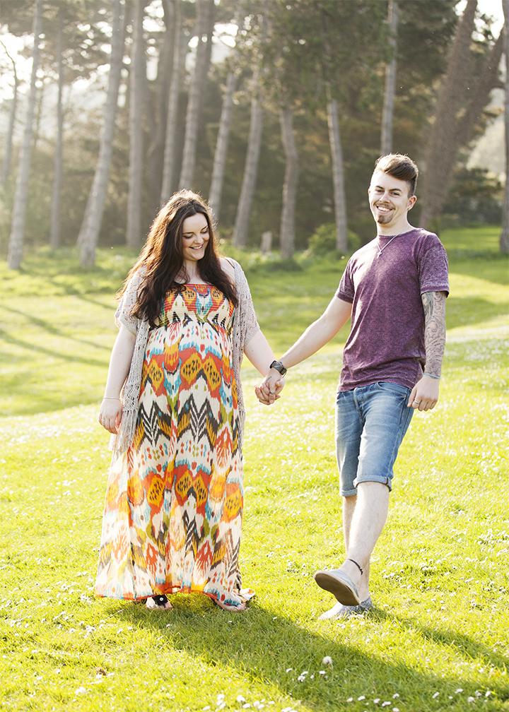 maternity baby bump photoshoot, Torquay