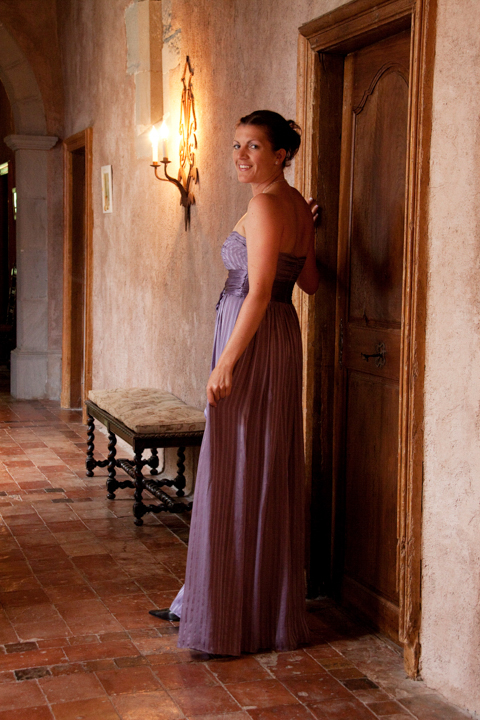 L'Abbaye Chateau De Camon, bridesmaid