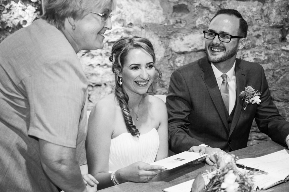The Spanish Barn wedding Torquay