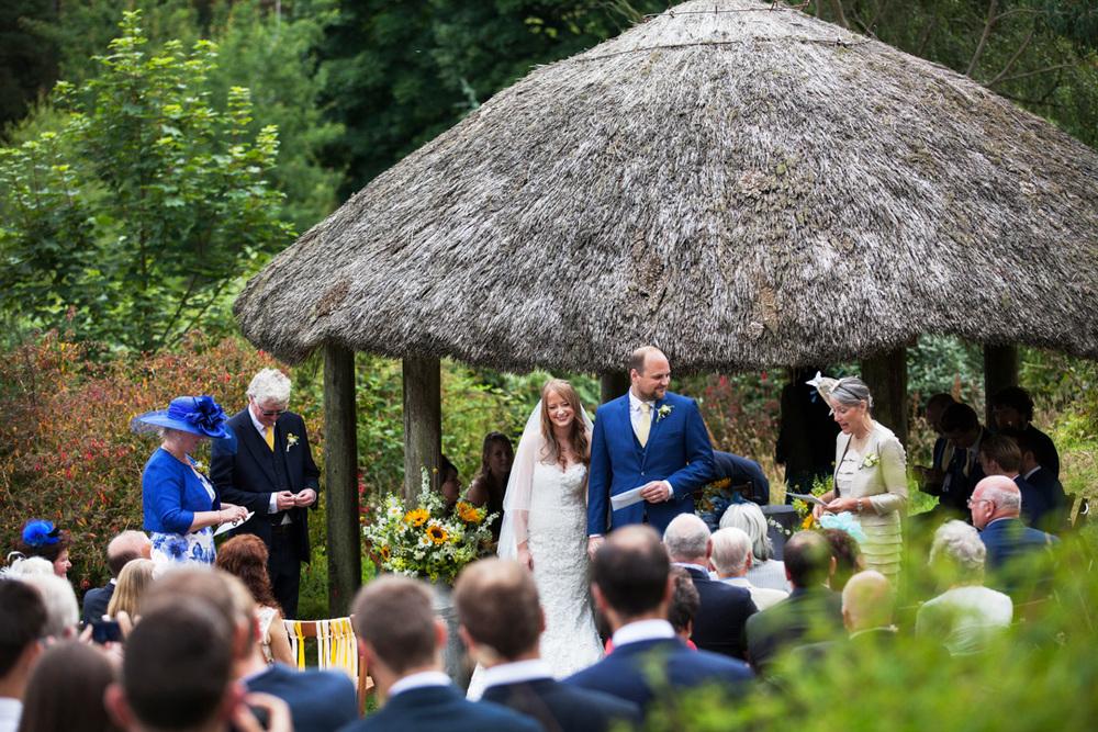 Yarner House wedding ceremony