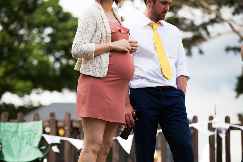 pregnancy outfit at wedding