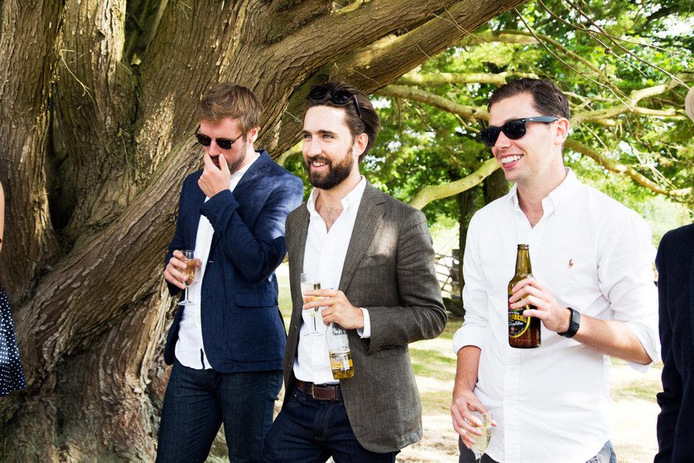 old boys at wedding