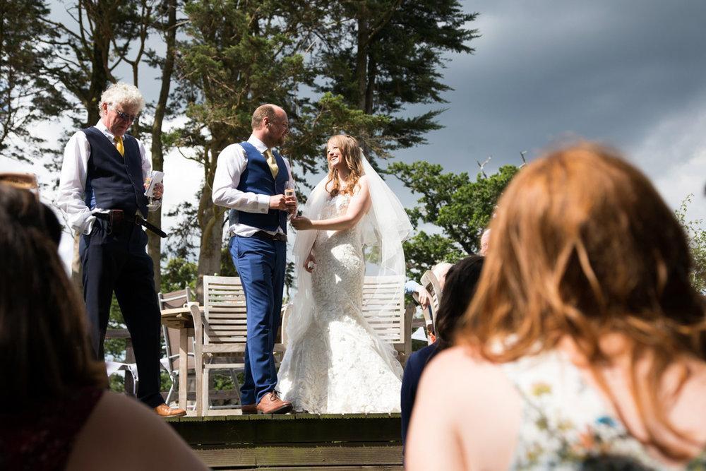 bride and groom wedding speeches