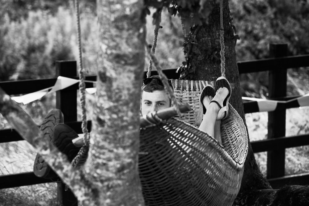 hammock at a wedding