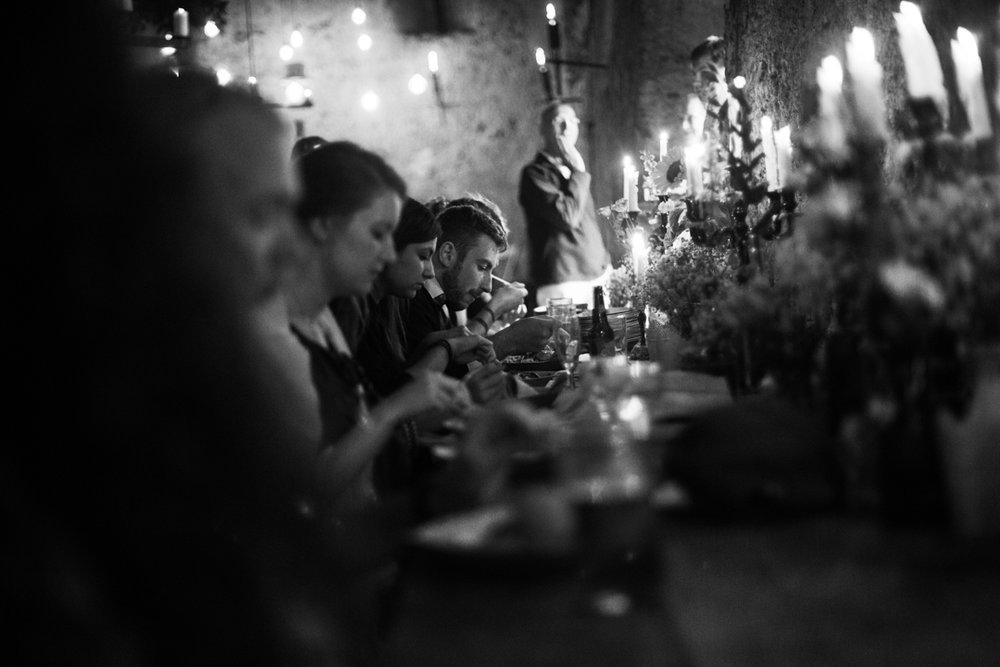 Higher Eggbeer sit down rustic dinner