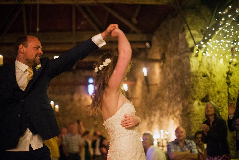 the first dance Dartmoor wedding