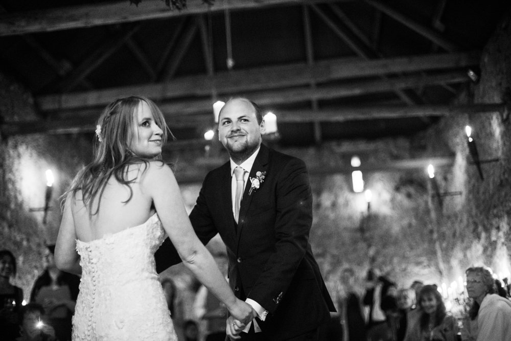 first dance by candlelight