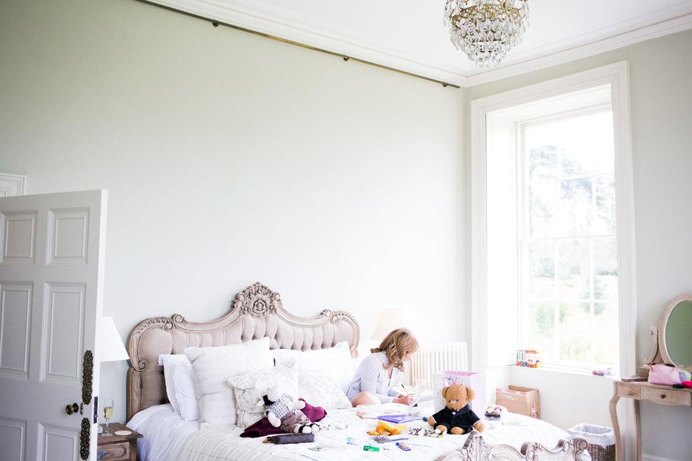 Pynes House Devon - bridal suite